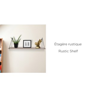 EtagŠre Murale Naturel - 55x20.5x35 - 6B