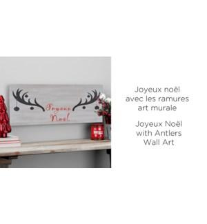 Joyeux Noel Antler 20x40 - 12B