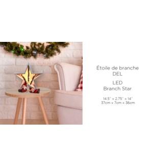 Branche LED Star 37x7x36 - 6B