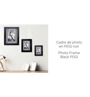 Cadre photo noir PDQ - 4x6 - 24B