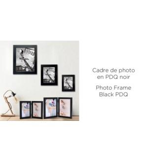 Cadre photo noir PDQ - 8X10 - 12B