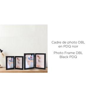 Cadre photo DBL Blk PDQ - 4x6-24B