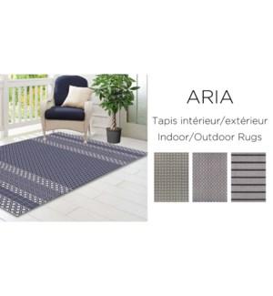 Tapis ext'rieur Aria Trellis 5x7 3/B