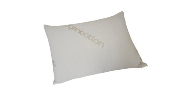 "Organic Cotton Knitted Pillow Shell 18.5x28.5"" Q beige"