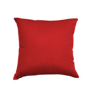 Outdoor Cush 17x17 Red 8b