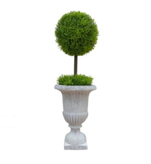Deco Topiary Gtry 67413pot 1b