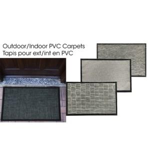 PVC CARPET ASST. 90X120CM 8/B