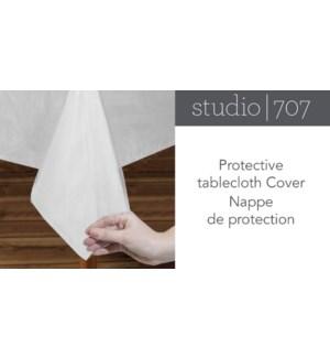 COUVRE-TISSU DE TABLE PROTECTEUR CLAIR 52x70 12B