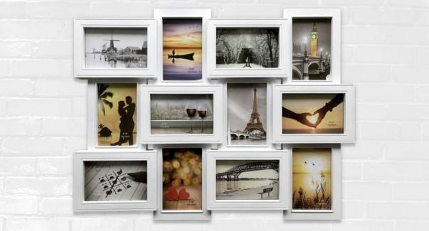 Collage 12 photo Ass-61x46.5x2.5-12B