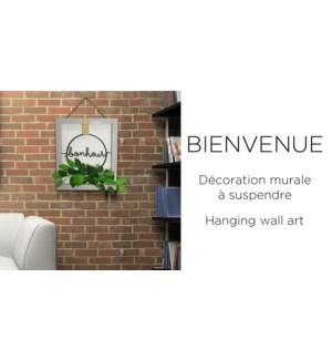 Bonheur Hanging Wall Art 30x35- 12B