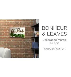 Bonheur feuilles murales 47x30-12b