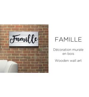 Famille Wall Art 20x40 - 8B
