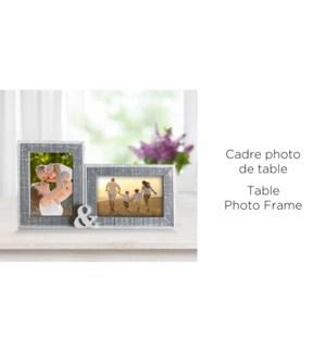 Cadre photo de table 33x19x2 - 4x6 '' - 8B