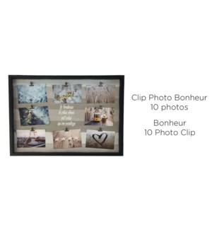 Clip Photo Bonheur 10 Gris - 57.9x42.6-8B