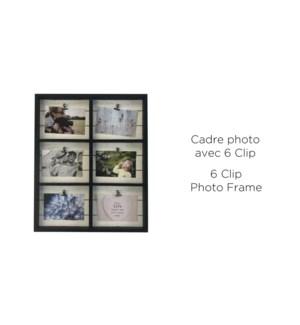 6 Clip Photo Bois Blanc 50x40.7-8B