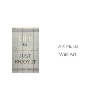 Art mural merveilleux 40x60 - 8B