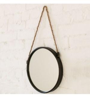 Hanging Mirror Blk 36dia 8b