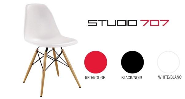 Rico Chair White 50.5x46.5x81