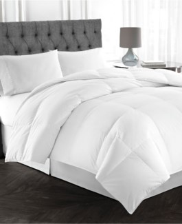 """PURE SILK COUETTE BLANC SIMPLE 64X86""""LVL2"""
