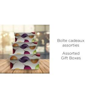 BoŒte-cadeau carr'e-Mlty-255X255-BOXES 4/ctn