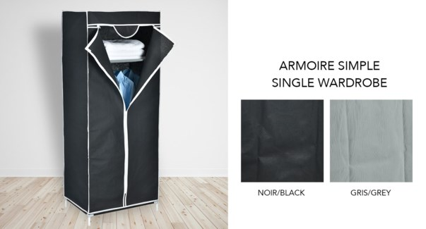 Armoire simple - Ass. 58x43x149 - 10B