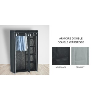Armoire double - Ass. 105x43x172-6B