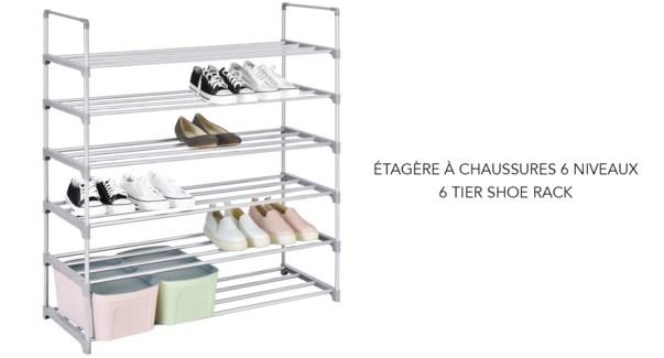 Range-chaussures … 6 niveaux -8B