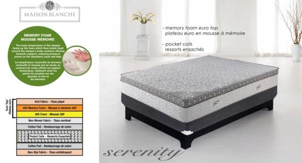 Serenity Mp3339r Mattress T