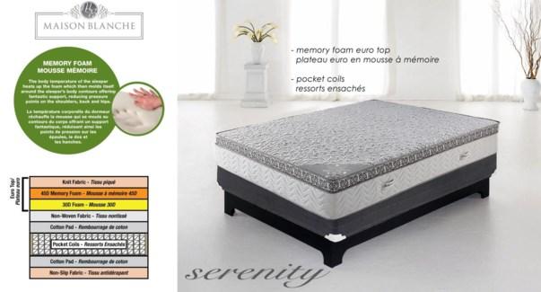 Serenity Mp3339r Mattress Q
