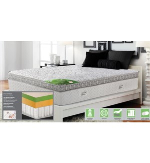 ROLLED SERENITY MATTRESS QUEEN 153X203X32
