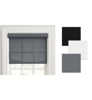 STORE SOLAIRE AVEC  CORDON-Blanc-55 x 84-STORE 6/b