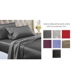 SCOTISH PILLOW CASE-ASSORTED-KING-PILLOW CASE