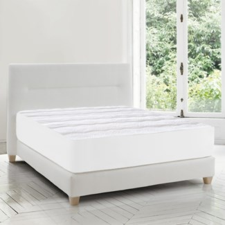 SOFT TOUCH COUVRE-MATELAS BLANC SIMPLE 4B