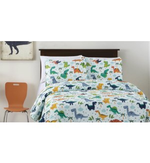 MF-REX  green-T 68x86-2pc QUILT SET