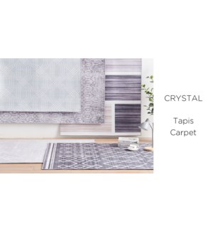 Tapis Crystal Assortiment 2x3 - 10B