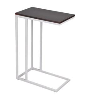 TABLE D`APPOINT AVEC CADRE EN METAL ESPRESSO 50x30