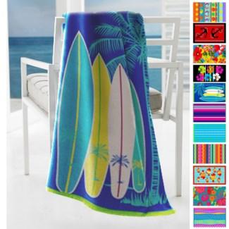 Beach Towel S15 Asst 30x60 60b