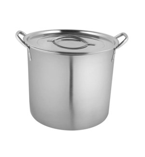 stainless steel Stock pot with lid  8qt-24cm