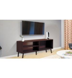 Meuble TV Espresso 120x38x45cm