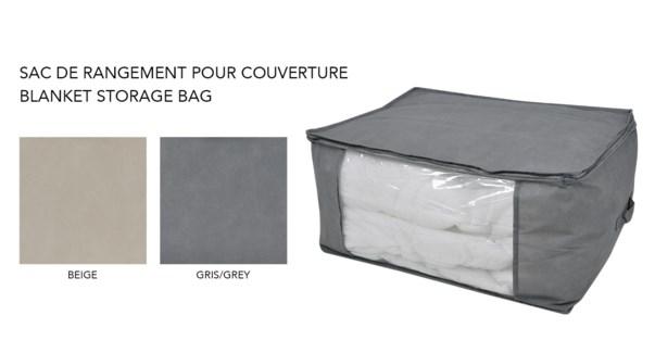 Sac de rangement pour couverture 60x45x30-24B