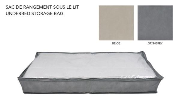 Sac de rangement sous le lit - 104x46x15-24B