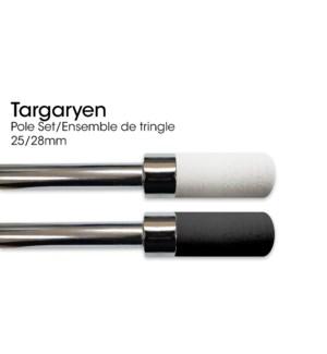 TARGARYEN ENSEMBLE DE TRINGLE BLANC 25/28MM 28X48