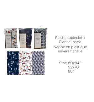 PE20-A NAPPE PLASTIQUE R60 - 3 MOTIFS ASSORTIS 12/b
