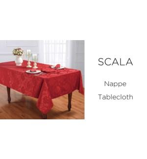 SCALA-RED TANGO C-60x102-TABLECLOTH