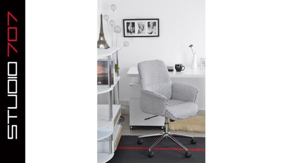 Deluxe Off Chair Gry 64*62*101