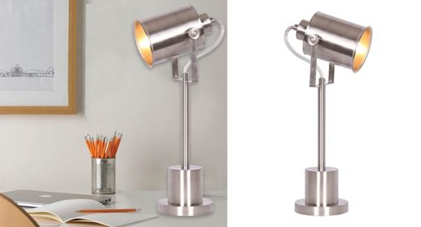 LAMPE DE BUREAU EN METAL AVEC TETE AJUSTABLE 15x23x40 4B