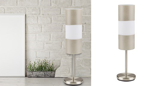 Table Lamp Beige-45x12-4B