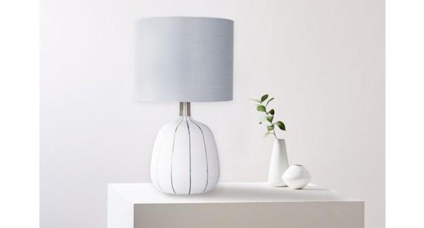 Lampe C'ramique Stripe - 28x28x41 - 4B