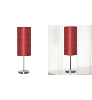 Lampe de table rouge 48x14 - 4B