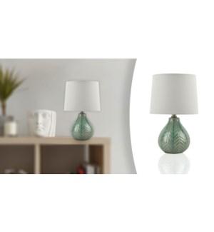 Lampe de table 21 Vert 23x23x36-4B